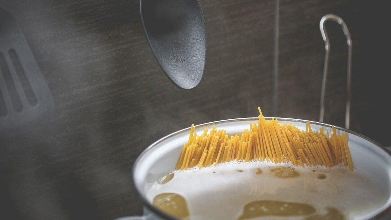 Pasta froth